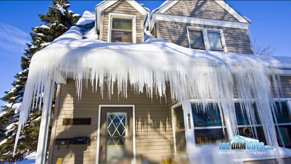 About Ice Dams and Roof Snow